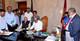 রাষ্ট্রপতি মোঃ আবদুল হামিদ ৭ জুন ২০১৮ বৃহস্পতিবার ঢাকায় জাতীয় সংসদ ভবনে তাঁর অফিসকক্ষে ২০১৮-২০১৯ অর্থবছরের বাজেট বিলে স্বাক্ষর করেন।